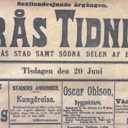 Studiebesök på Borås Tidning